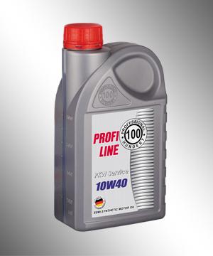 Полусинтетическое моторное масло Profi Line 10W-40