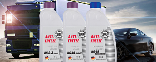 New antifreezes Professional Hundert of premium level!