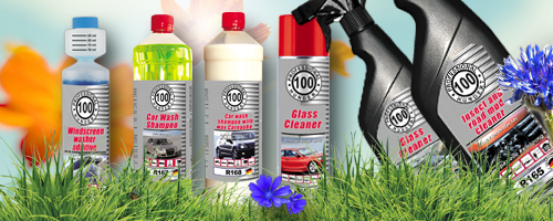 Summer car care products of Professional Hundert!